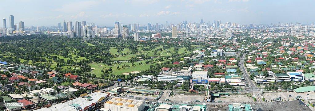 Manila Morning royalty-free stock photo