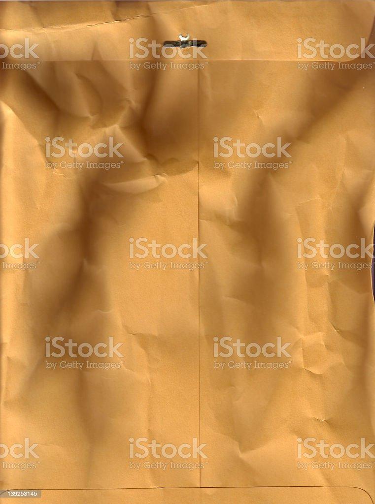 manilla envelope royalty-free stock photo