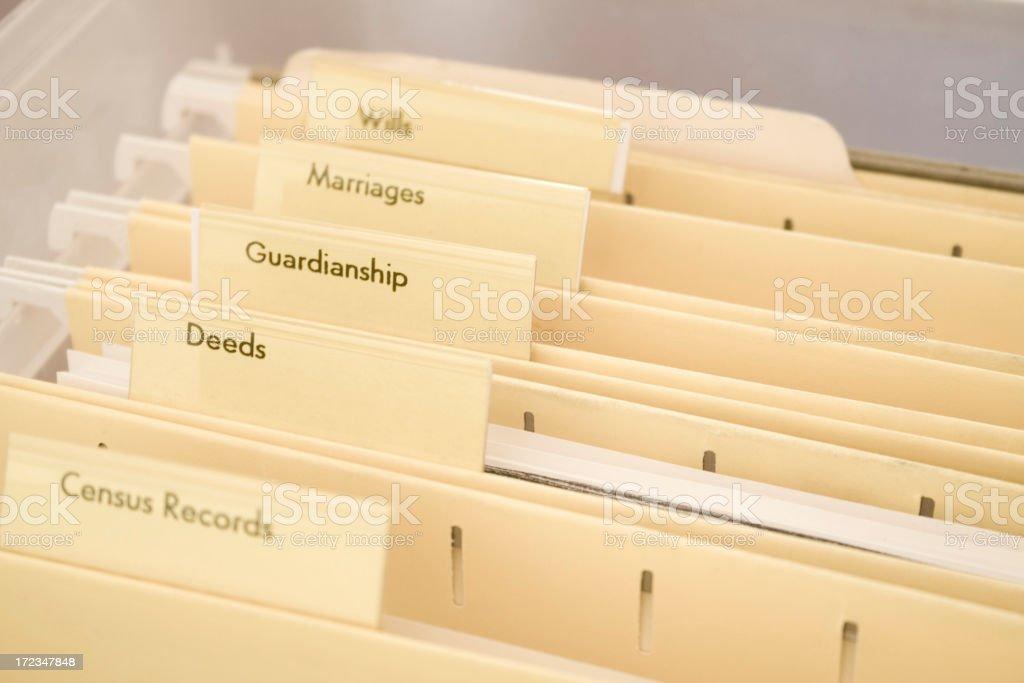 Manilla Genealogy stock photo