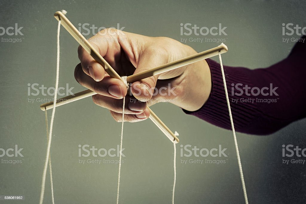 Manipulating arm stock photo