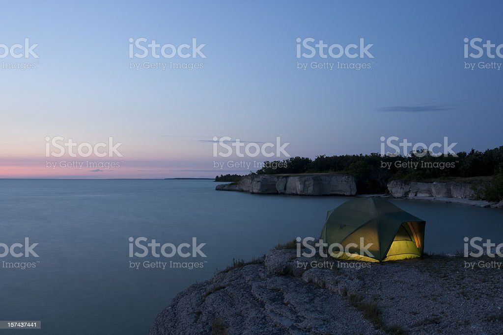 Manitoba  Steep Rock royalty-free stock photo