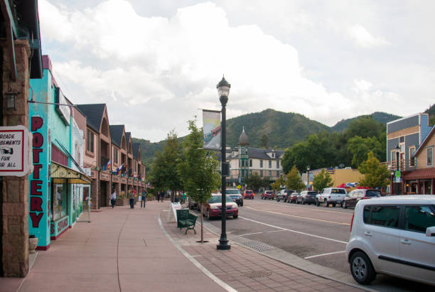 Manitou Springs Colorado stock photo