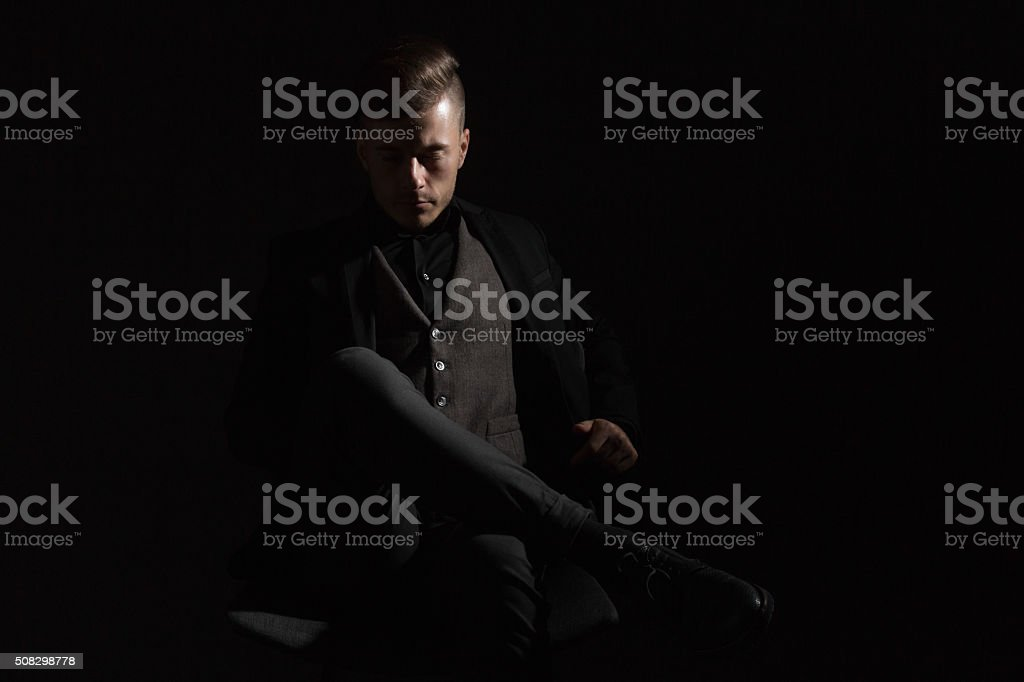Manliness stock photo