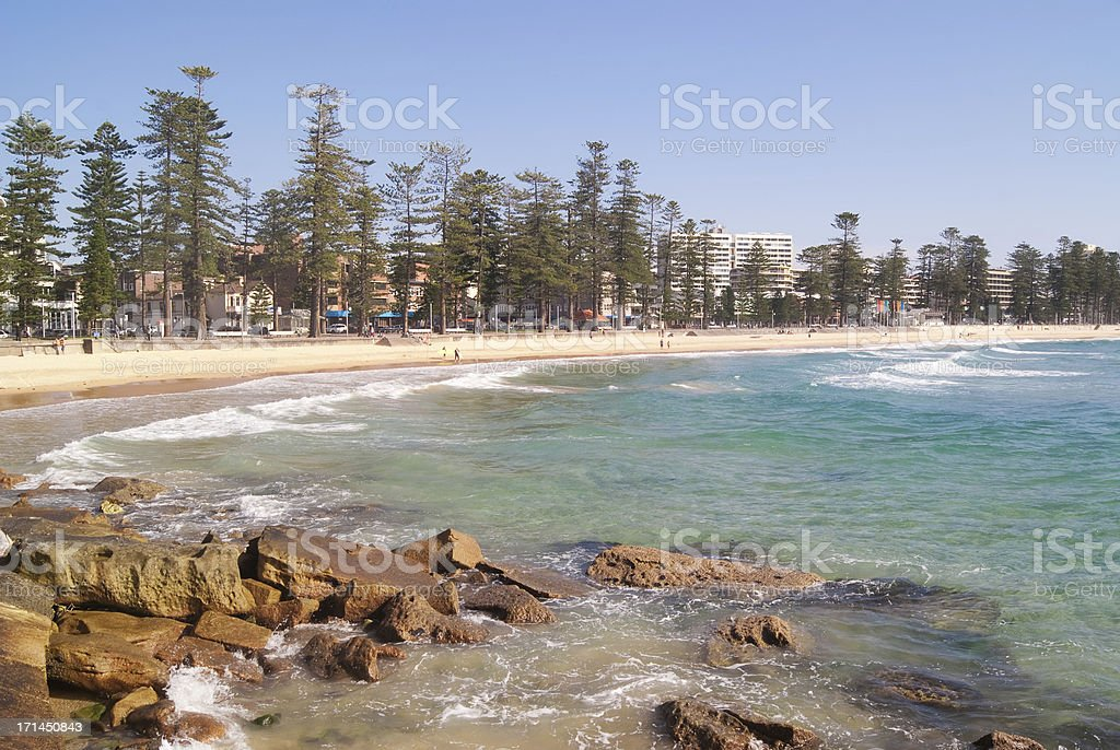 Manly Beach #1 stock photo