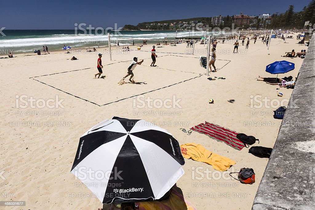 Manly Beach royalty-free stock photo