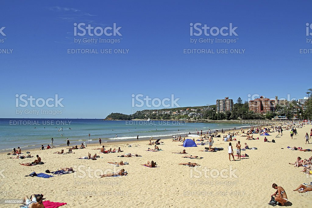 Manly Beach stock photo