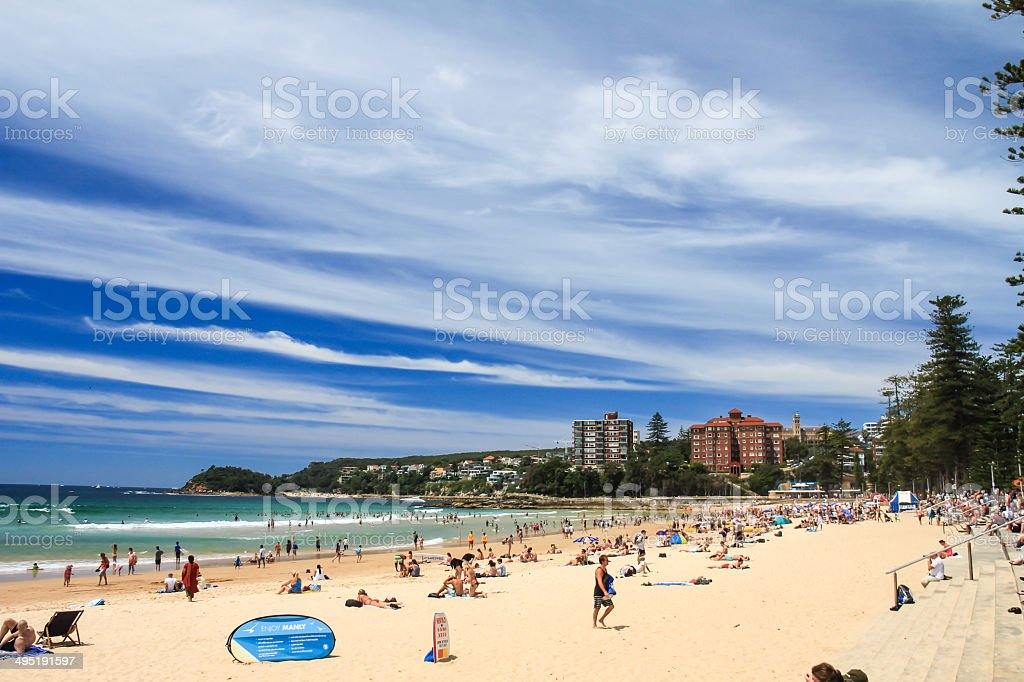 Manly Beach, Sydney stock photo