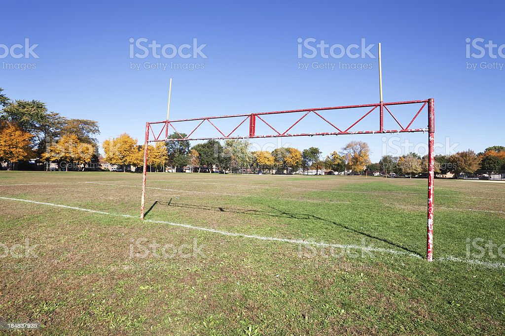Mann Park in Hegewisch, a Chicago royalty-free stock photo