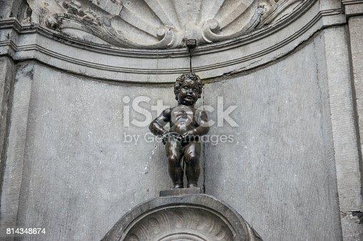 Manneken piss in Brussel Belgium