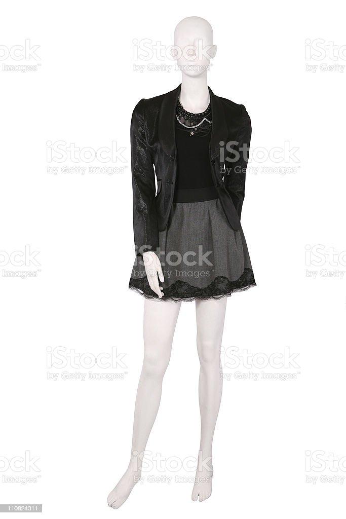 En liquidación descuento hasta 60% comprar bien S Mannequin Vestido Con Chaqueta Y Faldones Foto de stock y ...