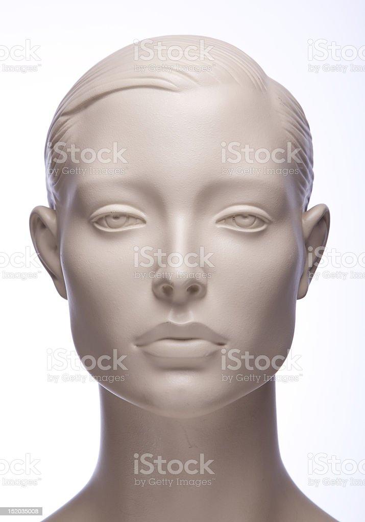 Mannequin head stock photo