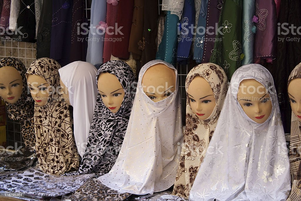 Mannequin Heads royalty-free stock photo