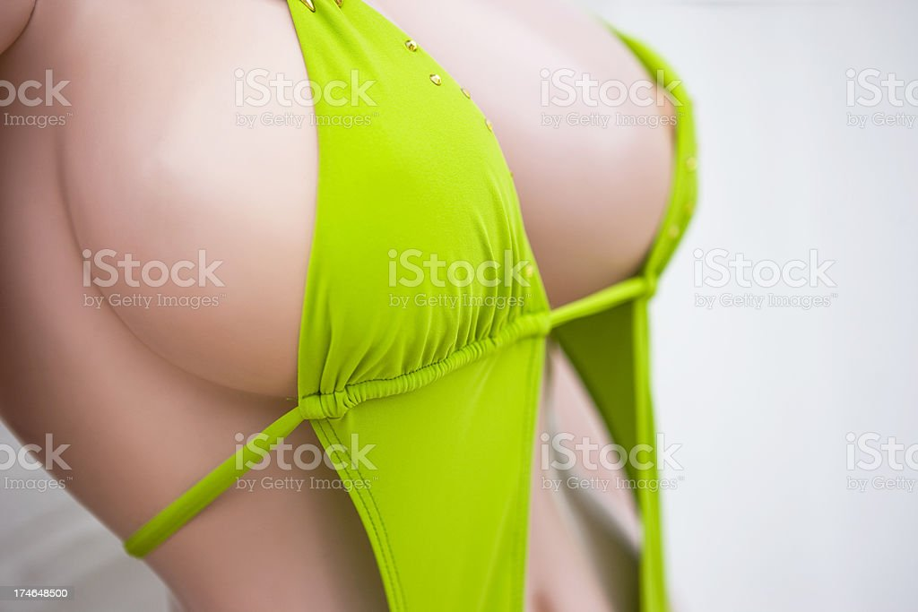 Mannequin in bikini royalty-free stock photo