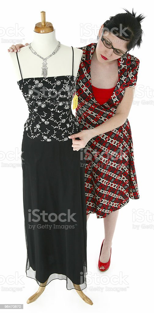 Mannequin royalty-free stock photo