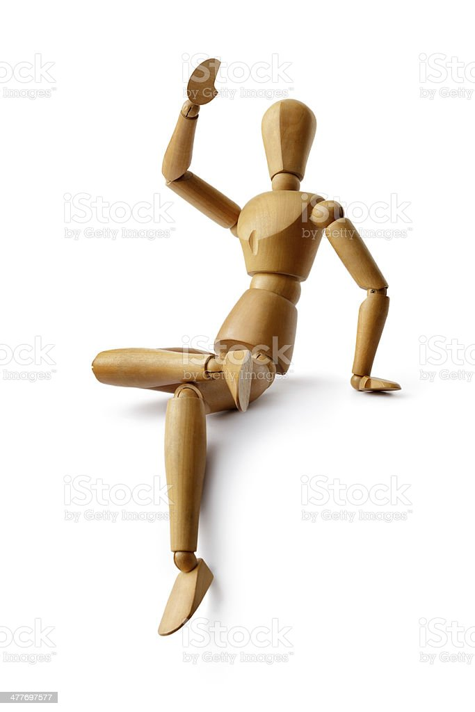 Mannequin: Positive royalty-free stock photo