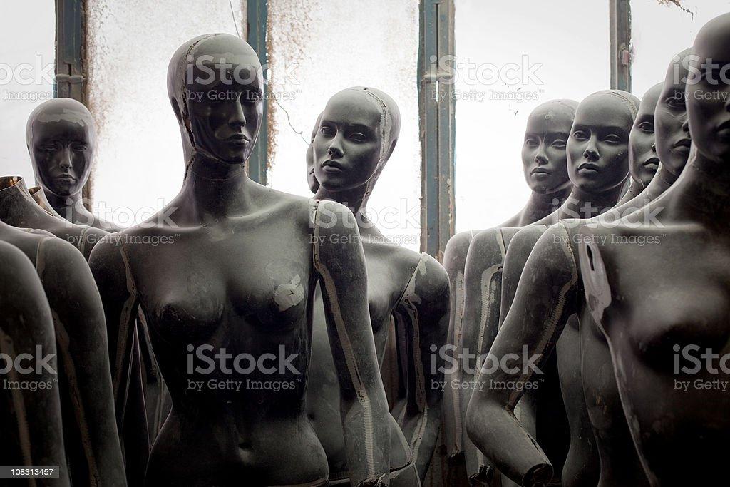 Mannequin series stock photo
