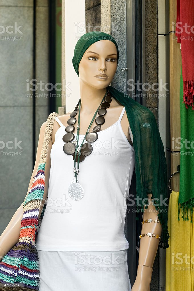 Mannequin series royalty-free stock photo