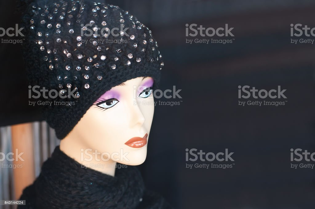 30f5f1147cb Mannequin Winter Fashion In A Showroom Stock Photo   More Pictures ...