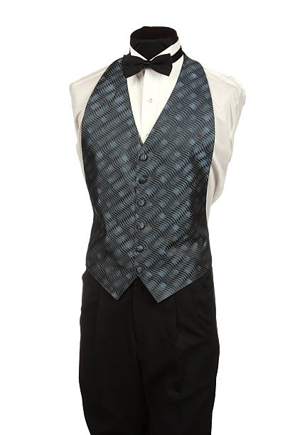Mannequin with Tie and Vest stock photo
