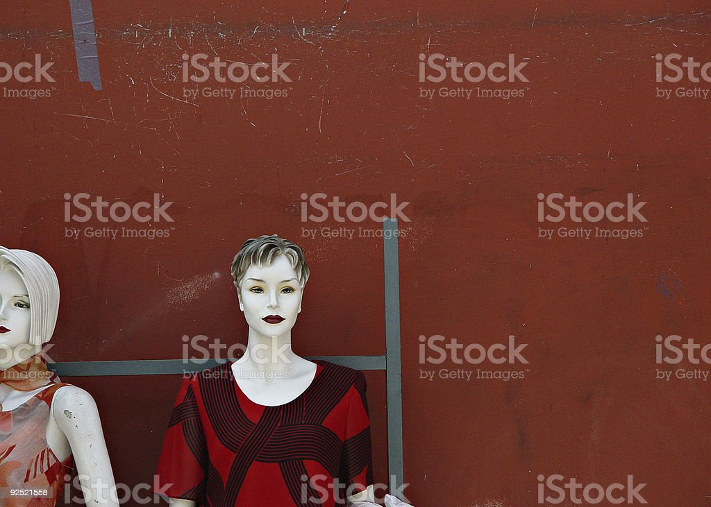 Mannequins stock photo