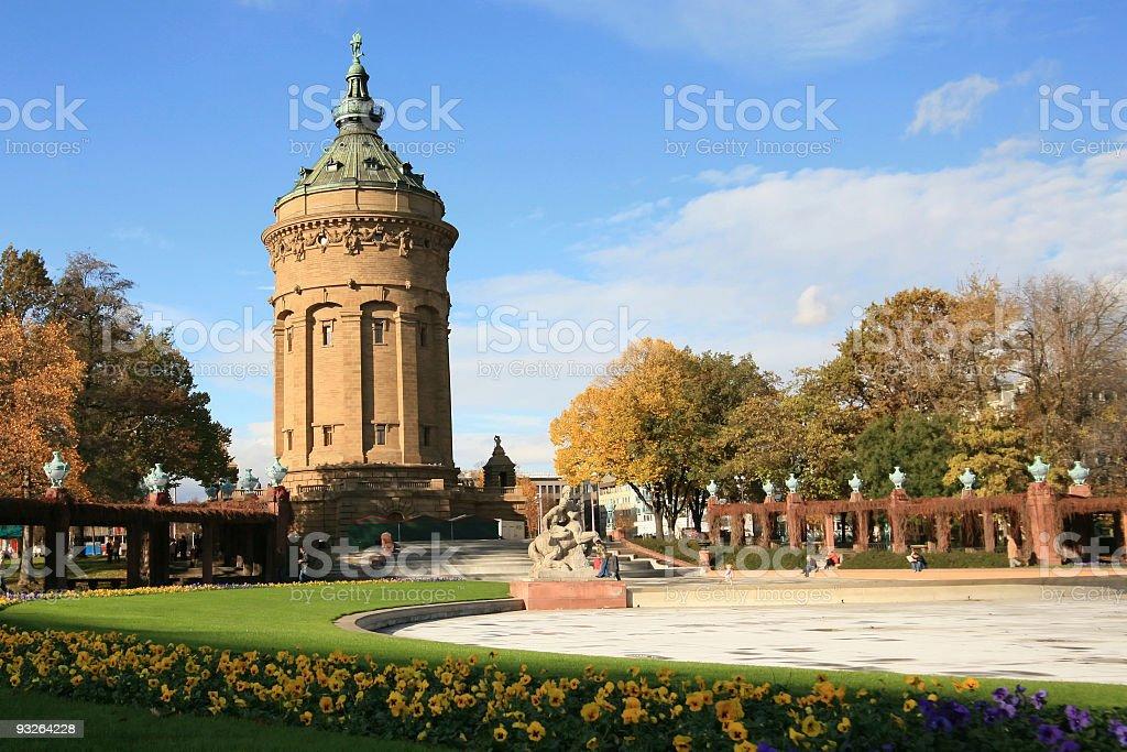 Mannheim, Germany stock photo