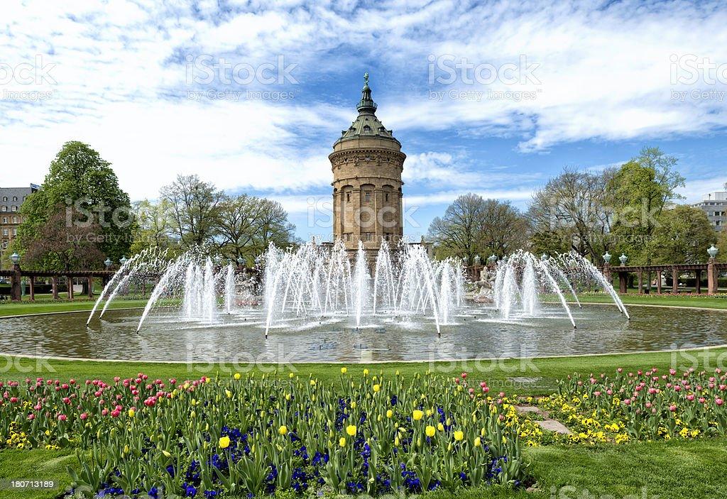 Mannheim stock photo