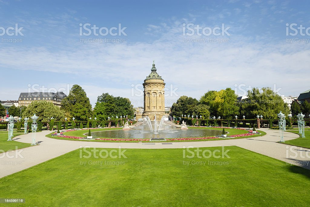 Mannheim - Royalty-free Architecture Stock Photo