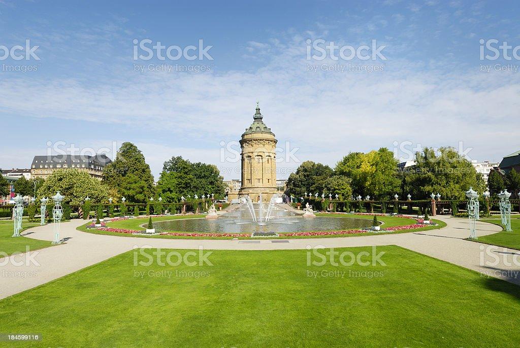 Mannheim royalty-free stock photo