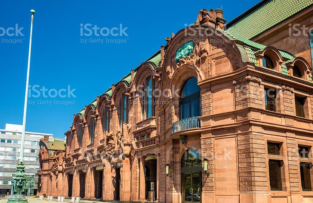 Mannheim Rosengarten, a Concert Hall and Congress Centre in Bade stock photo