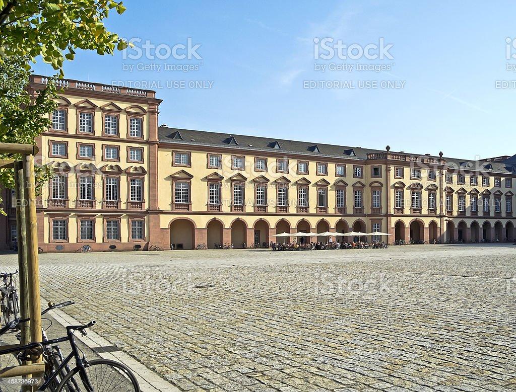 Mannheim University stock photo