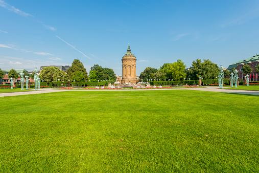 Water tower - Wasserturm - in Mannheim/ Germany.