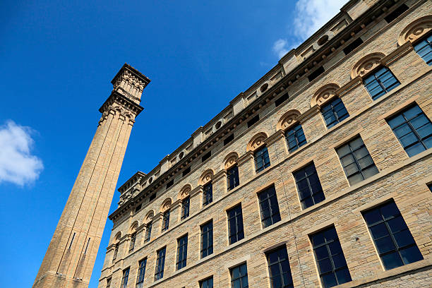 Manningham Mill Bradford stock photo