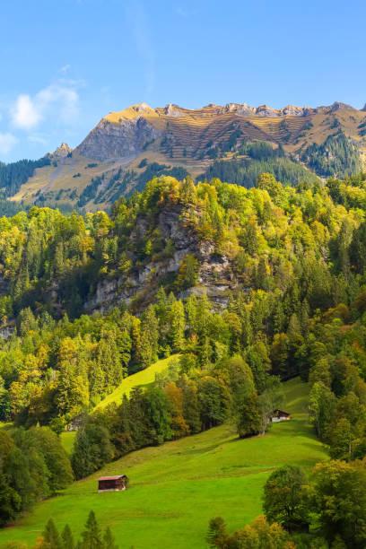 Mannlichen at Swiss Alps, Switzerland stock photo