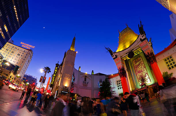 Mann's Chinese Theatre at Hollywood Boulevard in Los Angeles, CA