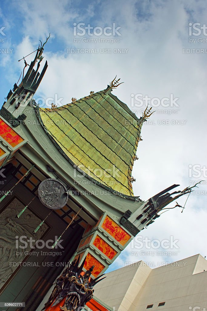 Mann's Chinese Theatre stock photo