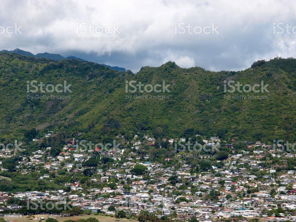 Manoa Valley stock photo