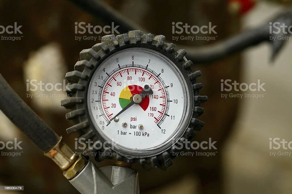 Manometer royalty-free stock photo