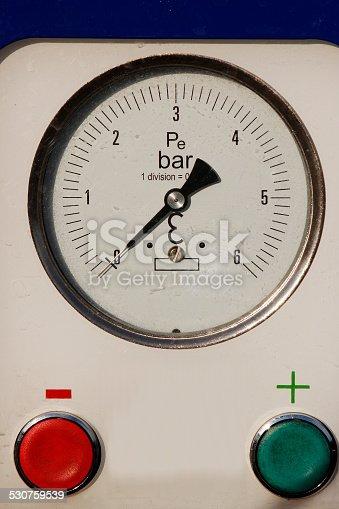 one pressure control panel