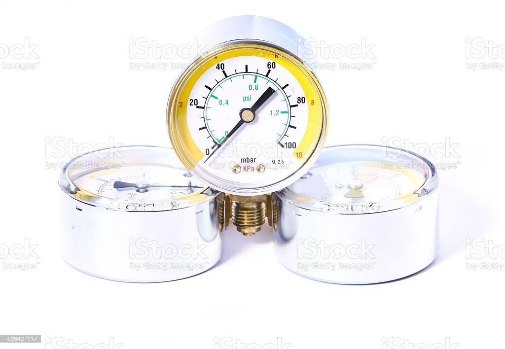 manometers stock photo