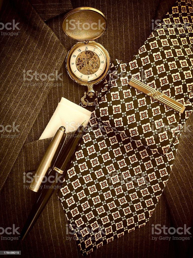 Man's Accessories stock photo