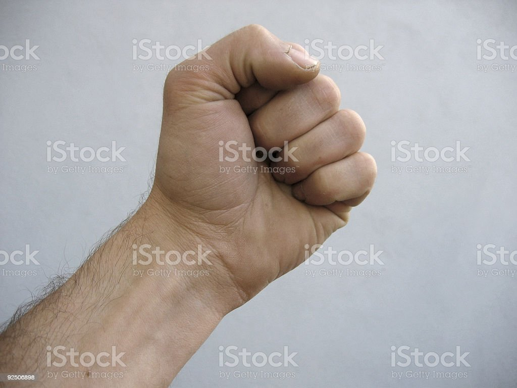 mans hand royalty-free stock photo