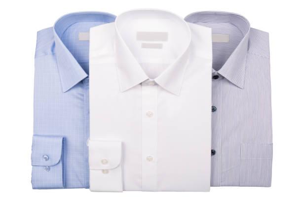 男性のシャツ - 襟付きシャツ ストックフォトと画像