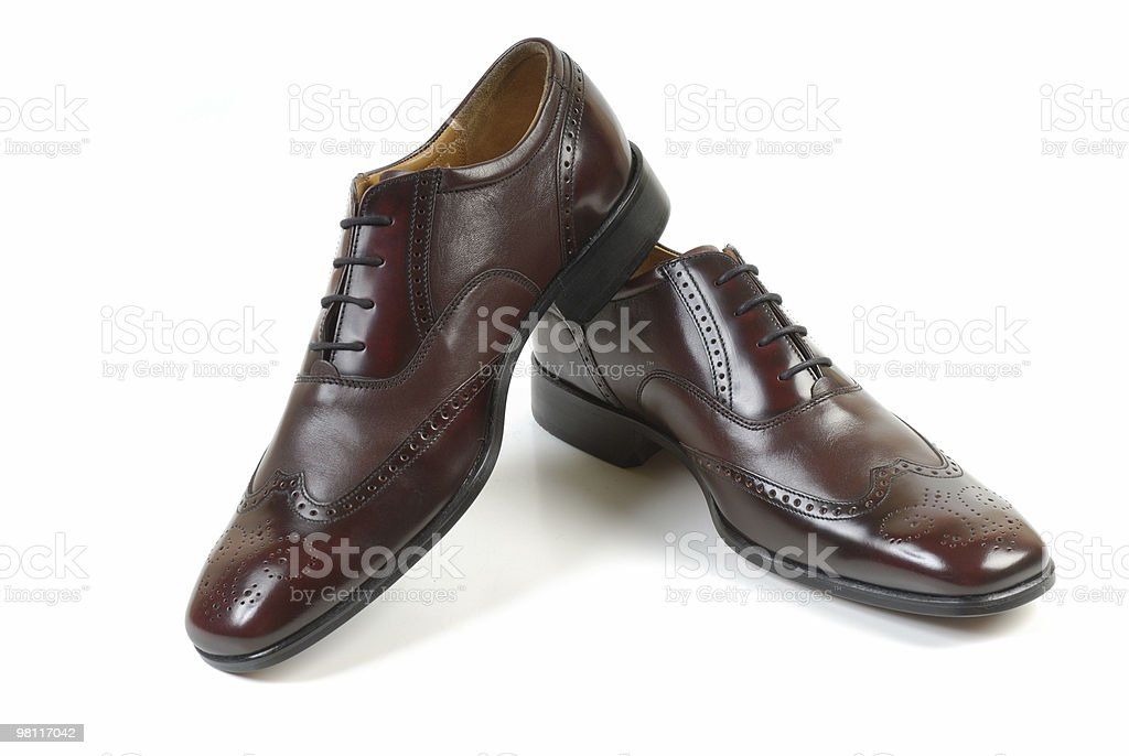 Man's shoes 2 royalty-free stock photo