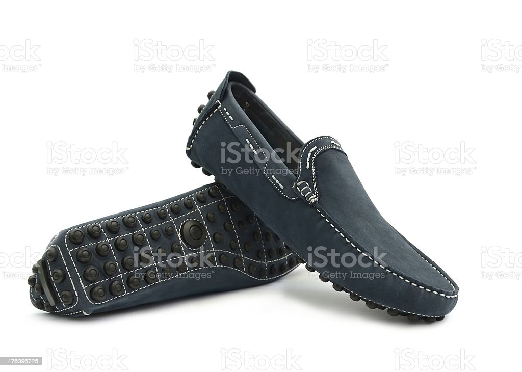 Man's shoes royalty-free stock photo