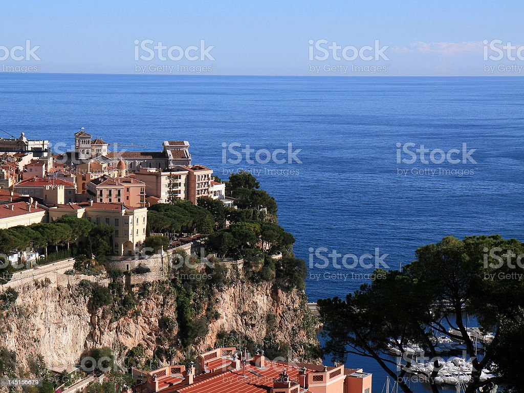 Mansion By The Sea royalty-free stock photo