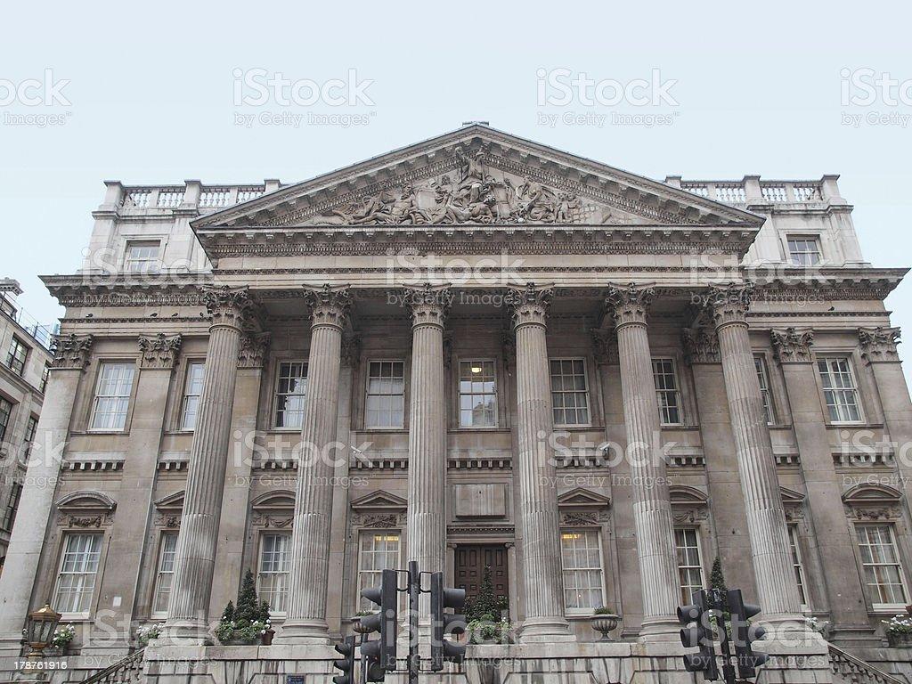 Mansion House, London – Foto