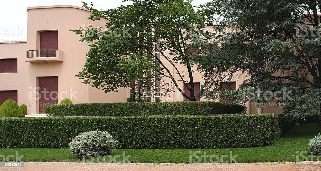 Mansion royalty-free stock photo