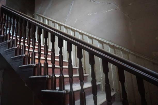 Mansions, Abandoned Asylums, Abandoned Churches, Abandoned Schools, Abandoned Places stock photo