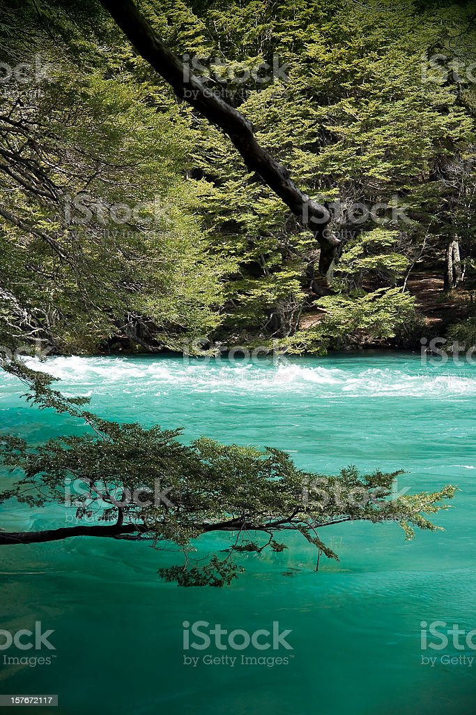 Manso River royalty-free stock photo