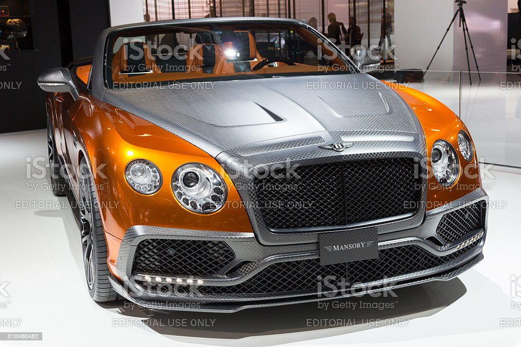 Mansory Bentley Continental GTC stock photo